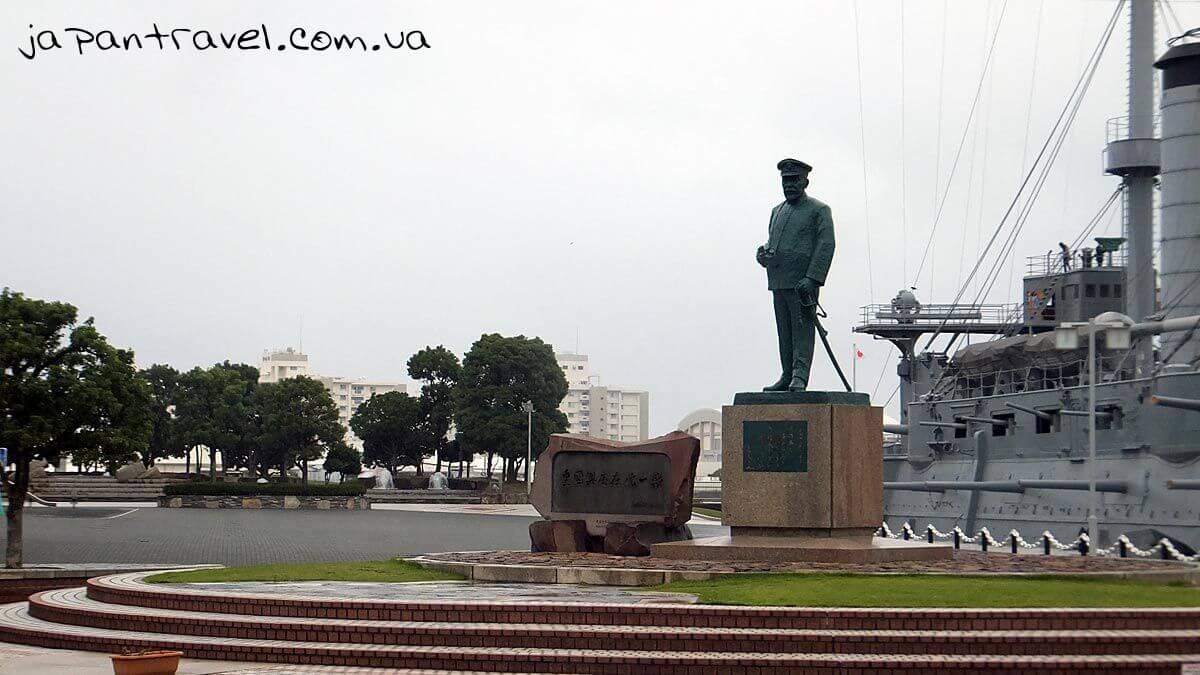 11 Admiral Tōgō Heihachirō monument