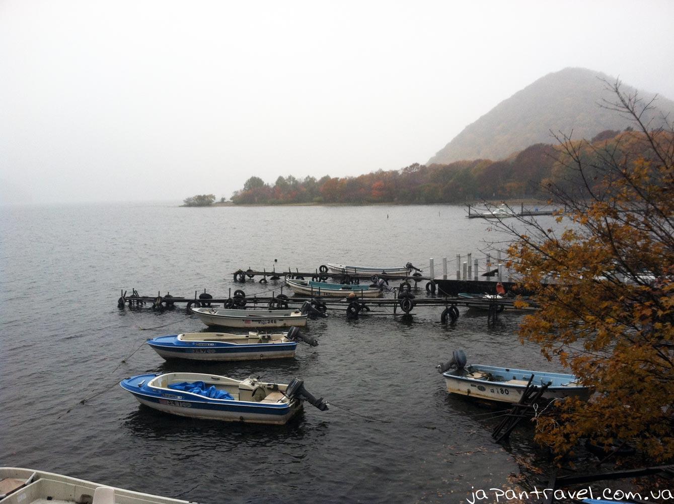 озеро-Чюдзенджі-туман