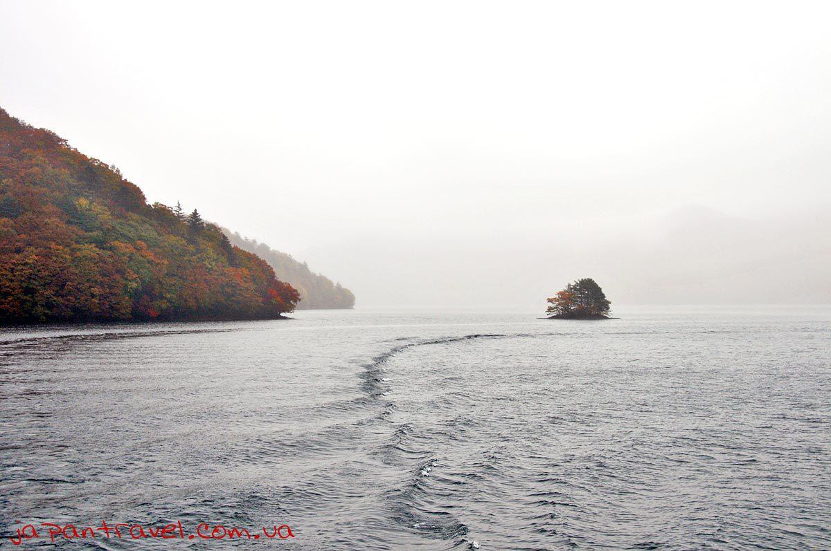 озеро-японія-осінь2