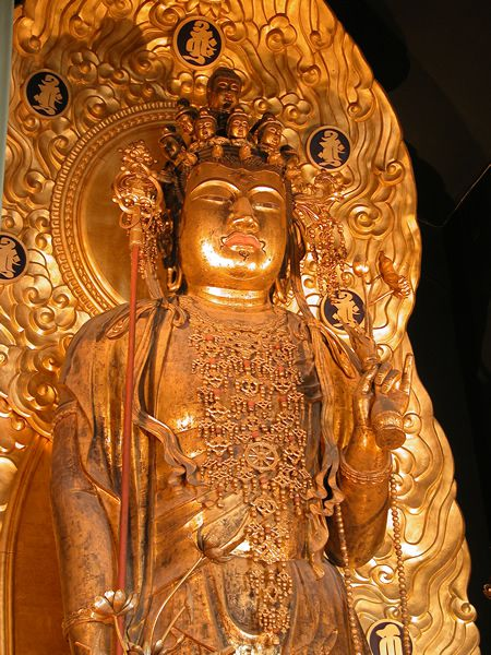 Хаседера статуя Каннон Мандрівки японією
