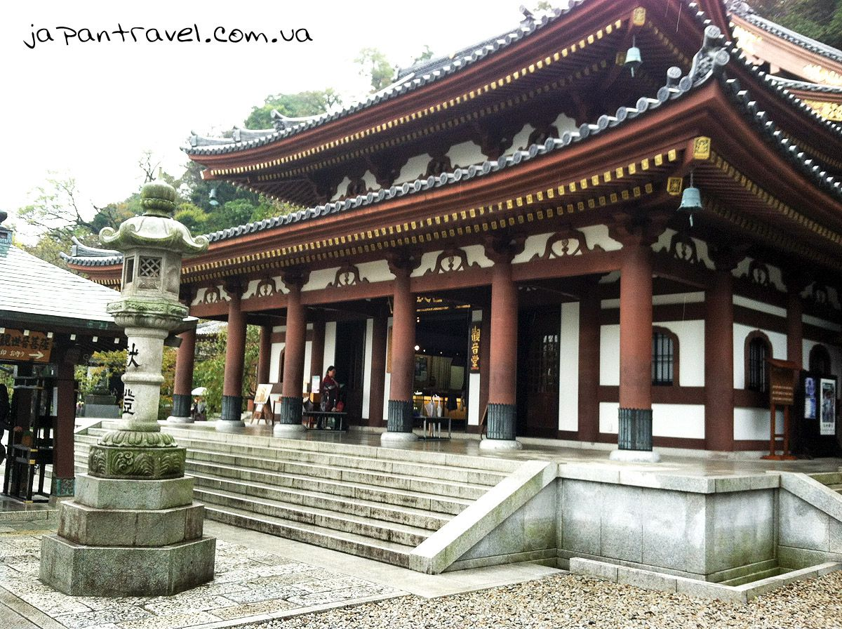 Зал з статуєю богині (Канон-до) в Хасе-дера, Камакура