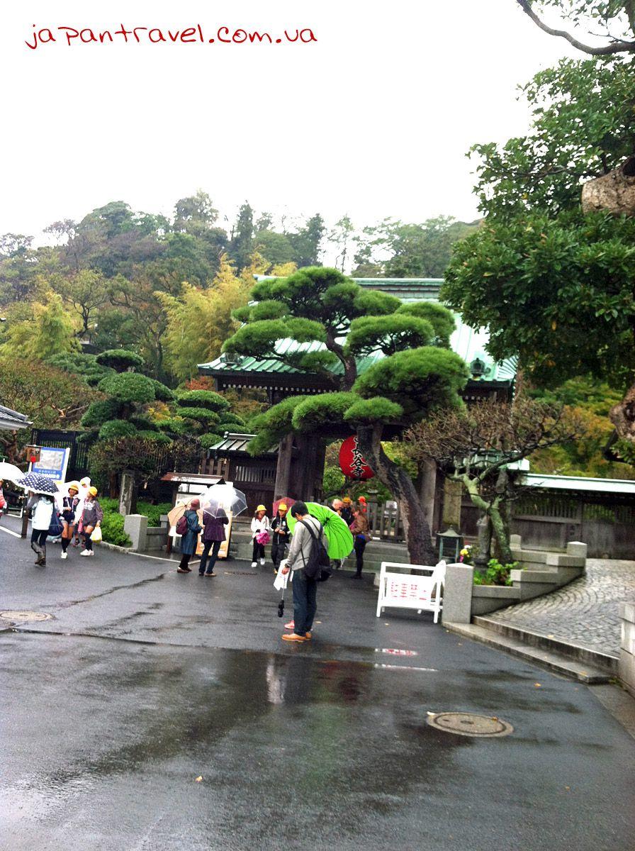 Хасе-дера в Камакура, головні ворота