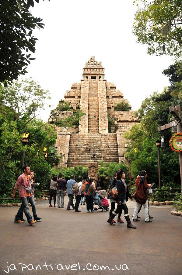 морський-дісней-японія-піраміда-ацтеків
