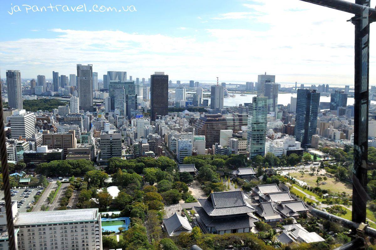 храм-в-токіо-вид-зверху-з-токійської-вежі-мандрівки-японією