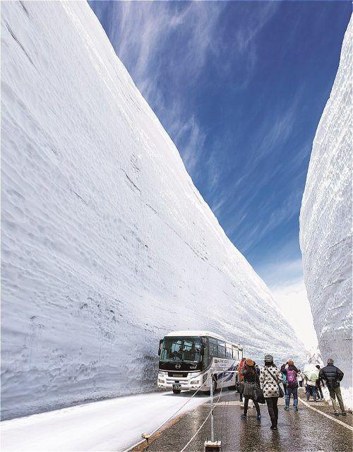 гора татеяма сніг сандрівки японією